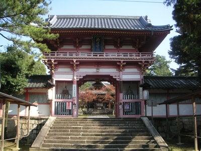 新日吉神宮の山門