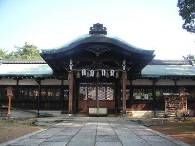新日吉神宮の本殿