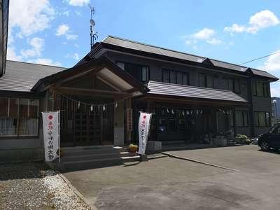 北海道厚別神社の本殿
