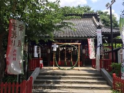 鴻神社の本殿