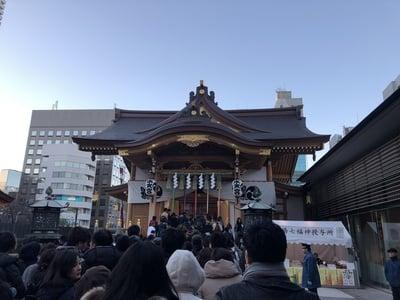 東京都水天宮の本殿