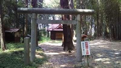 高房神社の鳥居