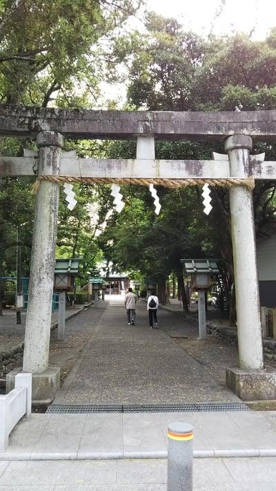 静岡県大井神社の鳥居