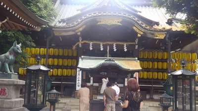 日枝神社の近くの神社お寺|豊川稲荷東京別院