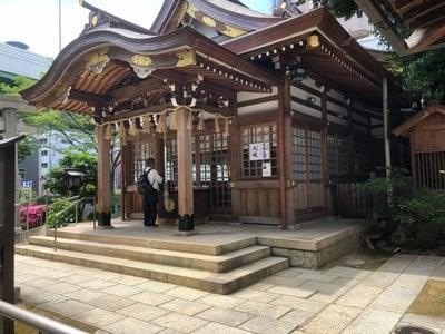 白龍神社の本殿
