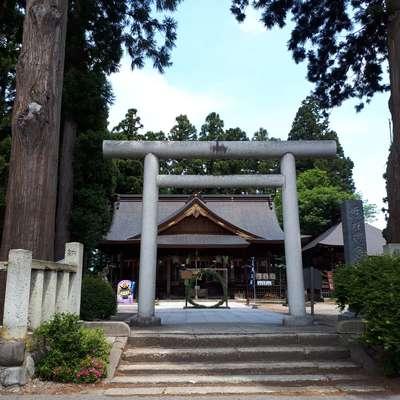 總宮神社の鳥居