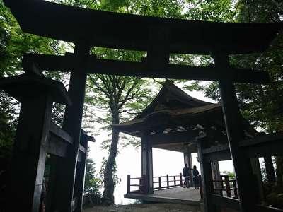 埼玉県三峯神社の鳥居