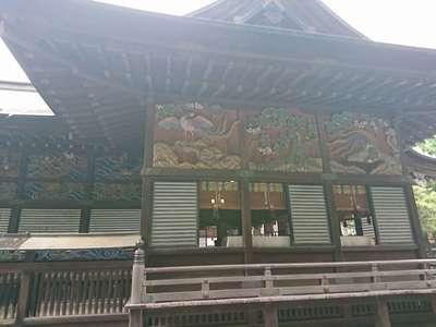 埼玉県秩父神社の本殿