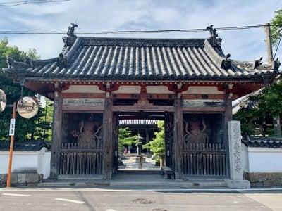 京都府穴太寺の山門
