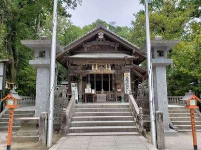 福岡県飯盛神社の本殿