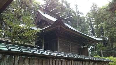 栃木県荒橿神社の本殿