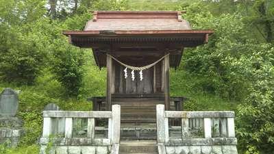栃木県たばこ神社の本殿