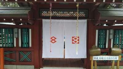 栃木県大前神社の本殿