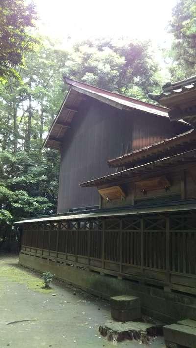 間々田八幡宮の本殿