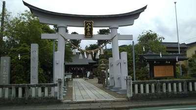 栃木県八雲神社の鳥居
