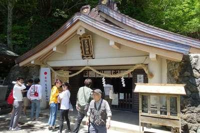 戸隠神社奥社の本殿