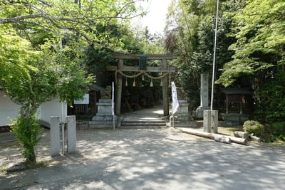 京都府走田神社の鳥居