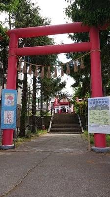 潮見ケ岡神社(北海道)