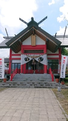 北海道潮見ケ岡神社の本殿