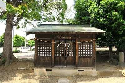 埼玉県新井宿 子日神社の写真