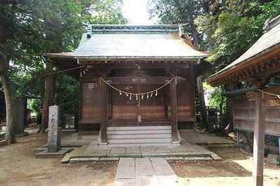 埼玉県氷川社の本殿