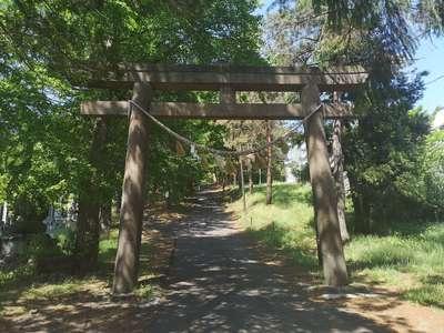 相馬神社(北海道澄川駅) - 鳥居の写真