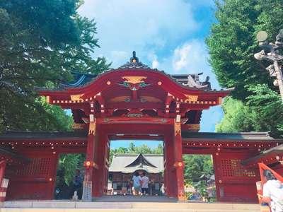 埼玉県秩父神社の山門