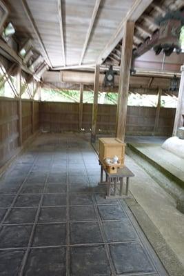 京都府生身天満宮の本殿