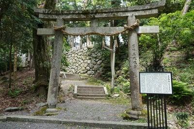 京都府愛宕神社の鳥居