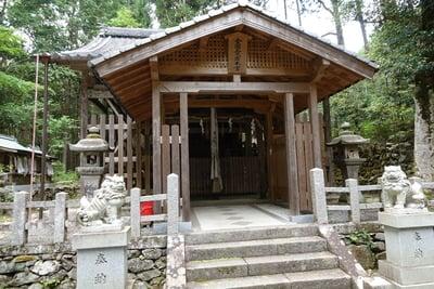 京都府愛宕神社の本殿