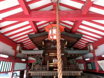 堀川戎神社の本殿