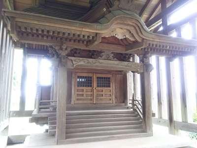千葉県乳清水神社の本殿