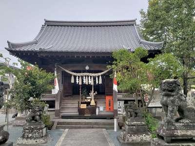 福岡県諏訪神社の本殿
