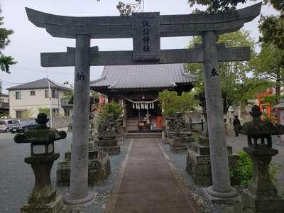 福岡県諏訪神社の鳥居