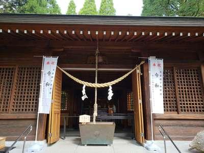 鹿児島県和気神社の本殿