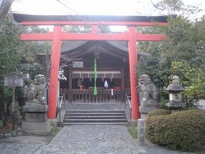 奈良県漢國神社の写真