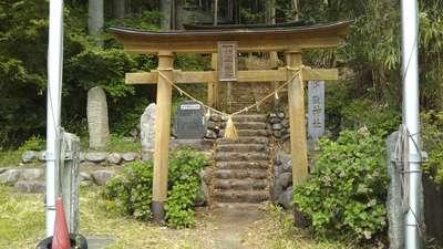 茨城県十殿神社の鳥居