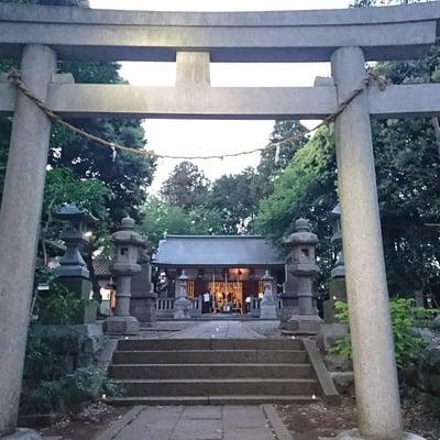 神奈川県月読神社の写真