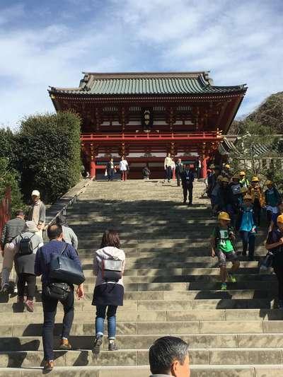 神奈川県鶴岡八幡宮の山門