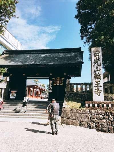 栃木県輪王寺の山門