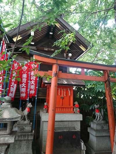 東京都櫻木神社の写真