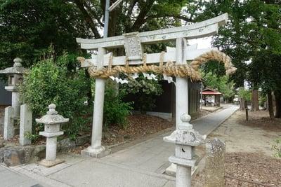 京都府篠村八幡宮の鳥居