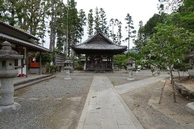 京都府篠村八幡宮の本殿