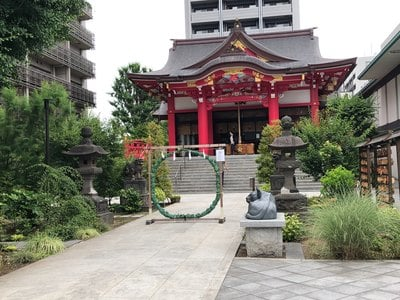 東京都成子天神社の本殿