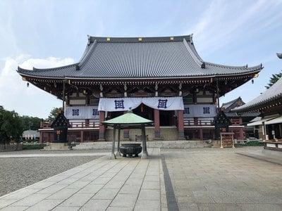 東京都池上本門寺の本殿