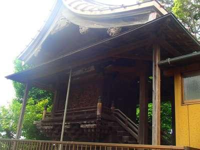 千葉県米本神社の本殿