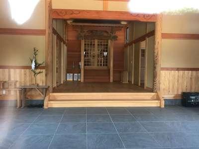 千葉県八幡神社の本殿