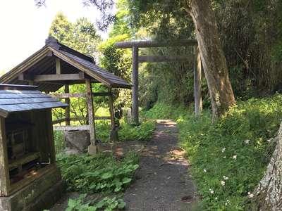 千葉県八幡神社の鳥居