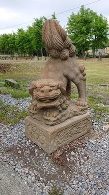 石狩弁天社の狛犬