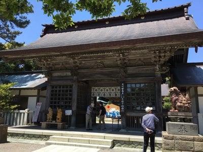 大洗磯前神社の山門